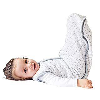 Wearable Blanket Sack for Baby, Premium Cotton Breathable Muslin Sleeping Bag Unisex for Toddlers, 18-36 Months, 0.5 TOG, Ideal for Summer