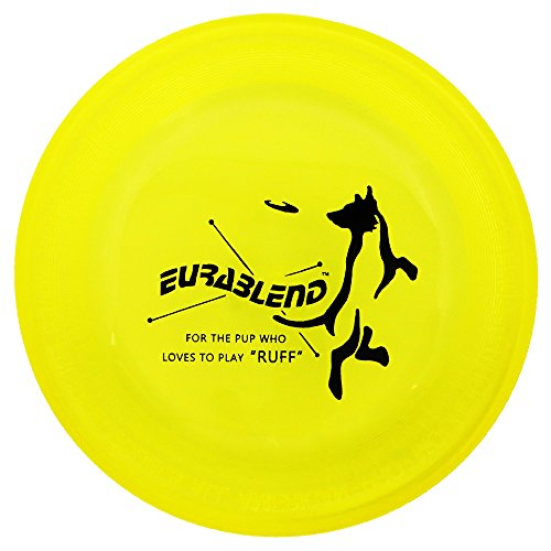 Wham-O Eurablend Fastback Frisbee High Durability Dog and Sport Flying Disc - Yellow