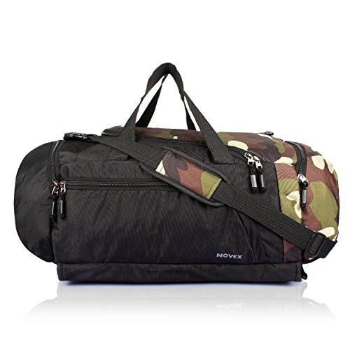 Novex Fusion Polyester Travel Bag Cum Rucksack | Hiking Bag | Trekking Bag | Rucksack Bag | Travel Bag  Camouflage