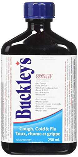 Buckleys Original Complete Syrup For Cough Large 250 Ml Size