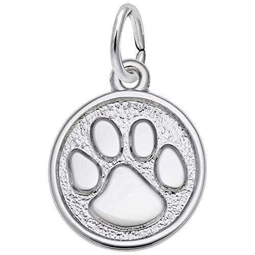 Rembrandt Charms Tiger Paw Charm, Sterling ()
