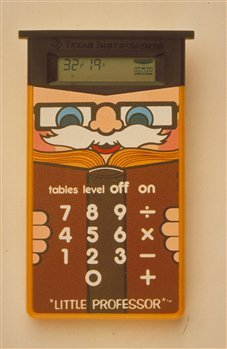 Vintage Little Professor Learning Calculator