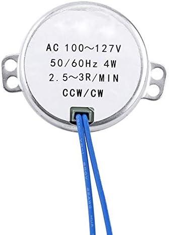 0.8-1RPM moteur synchronis/é /à CA 100-127V 4W moteur 50//60Hz CCW//CW Moteur synchrone 1pc