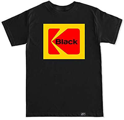 FTD Apparel Men's Black Kodak T Shirt