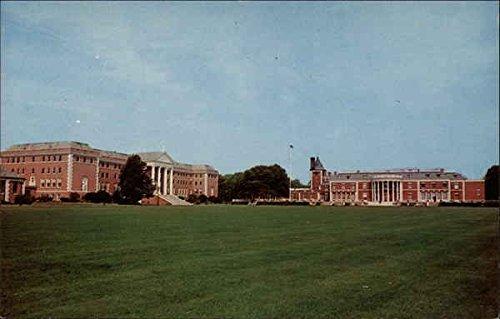 La Salle Military Academy Oakdale, New York Original Vintage Postcard from CardCow Vintage Postcards