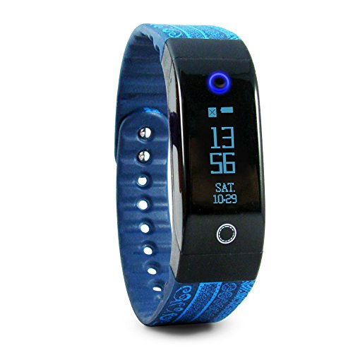 Tushi Pal Smart Fitness Tracker - Heart Rate Monitor & Activity Wristband - Uniquely Created with Indigenous Mayan Artisans + Sleep Monitor & Wireless Bluetooth 4.0 for Android and iOS