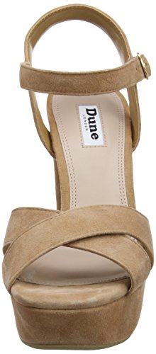 Ankle Dune Mexico Tan Strap Heels Women's Brown AU4ZxwqRC