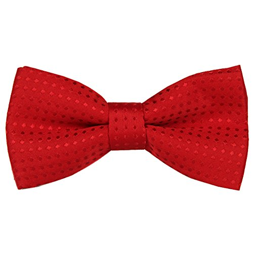 Pet Bow Tie, VICTHY Colorful Polka Dots Adorable Collar Butterfly Knot Puppy Adjustable Bow Ties for Dogs/Cats/Other Pets Red
