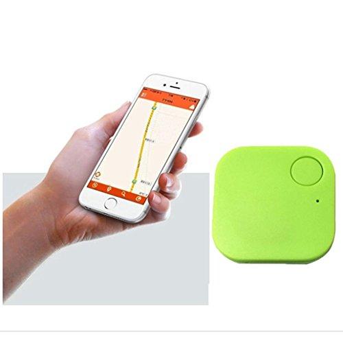 Smart Bluetooth Tracer Pet Child Wallet Key GPS Locator Tag Alarm(Green) - 2