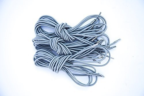 Do4U Universal Replacement Laces Premium Bungee Cords for Zero Gravity Style Chair, Recliners, Gravity Chair Repair Kit for Lounge Chair,Bunqee Chair, Anti Gravity Chair (8 ropes, Light Grey)