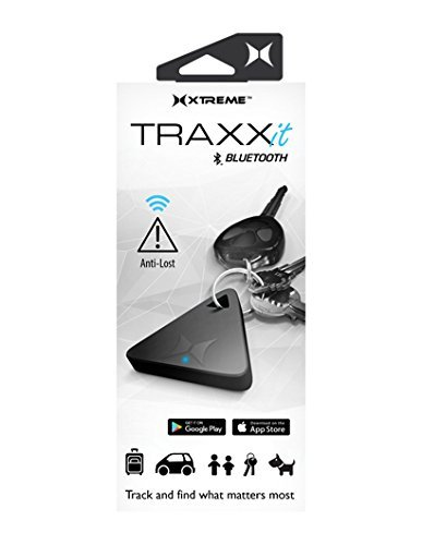 Xtreme Digital Lifestyle Accessories XEX6-0101-BLK Xtreme TRAXX it Bluetooth Key Finder and Tracker by Xtreme Digital Lifestyle Accessories