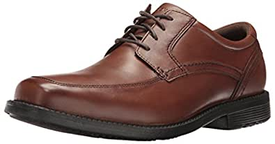 ROCKPORT Mens Style Leader 2 Apron Toe Oxford Brown Size: 6