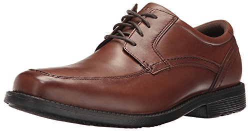 Rockport Men's Style Leader 2 Apron Toe Shoe, truffle tan, 11 W US