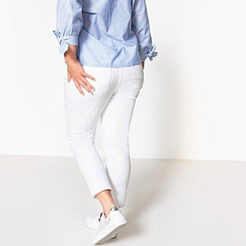 Castaluna Jeans Bianco Donna Slim Donna Castaluna Slim Bianco Jeans wwq615Cnx