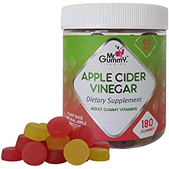 Amazon.com: Pure Apple Cider Vinegar Gummies - with Raw