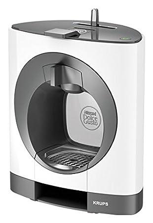Krups KP1101 K Oblo Nescafé Dolce Gusto Máquina de café y otras bebidas a Cápsulas Capacidad 0.8 Litros Potencia 1500 W Color Blanco: Amazon.es: Hogar