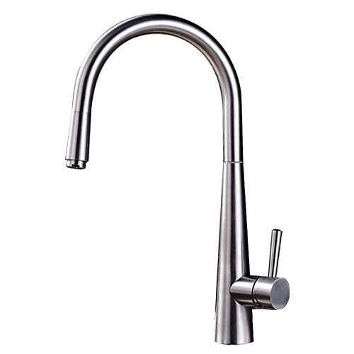 AQMMi Basin Sink Mixer Tap for Lavatory 304 Stainless Steel Cold and Hot Water redating Bathroom Vanity Sink Faucet