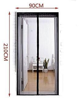 LinStyle Mosquitera Magnética para Puertas, cortina de malla con ...