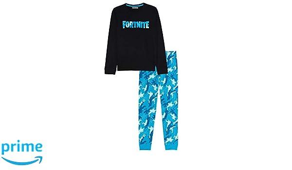fortnite - Pijama de 2 Piezas de algodón 10/12/14/16 años: Amazon ...