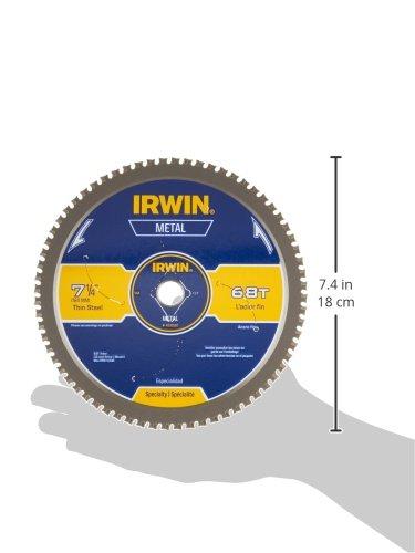 IRWIN Metal-Cutting Circular Saw Blade, 7-1/4'', 68T, 4935560 by Irwin Tools (Image #3)