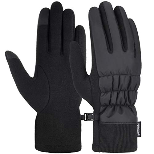 Women Winter Gloves, VBIGER Warm Touch Screen Gloves for Cycling Driving Running