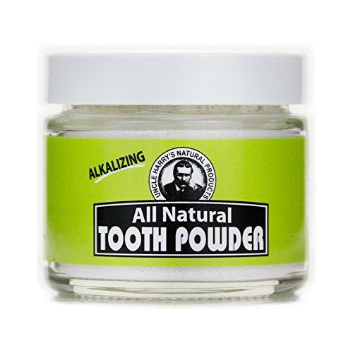 All Natural Tooth Powder, 2 Oz Glass Jar