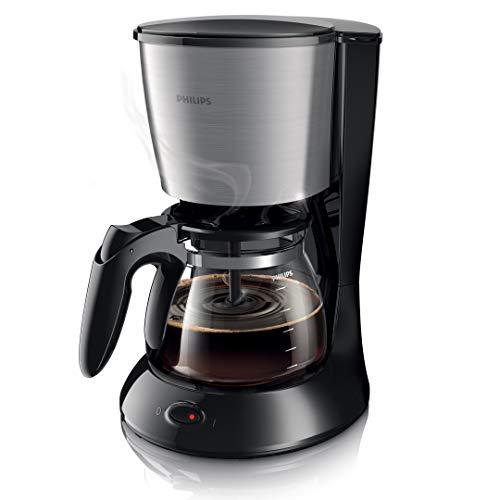 ماكينة لتحضير القهوة من تشكيلة ديلي شبه تلقائية موديل HD7462/20 من فيليبس، اسود