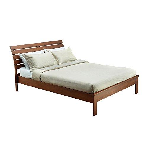 - Midtown Concept Michigan Mid-Century Queen Bed, Cocoa