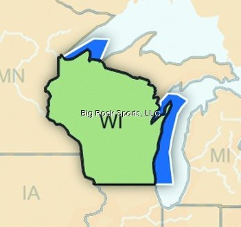 Navionics Hotmaps Premium Wisconsin Special Midwest - Hotmaps Premium Charts