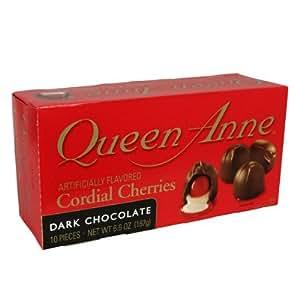Amazon.com : Queen Anne Dark Chocolate Cordial Cherries ...