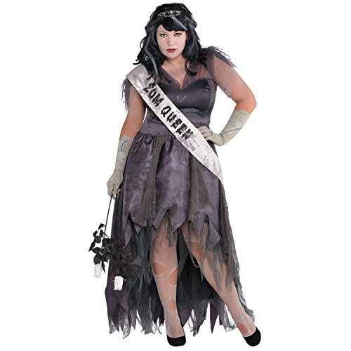 Homecoming Corpse Adult Costume - (Homecoming Queen Costume)