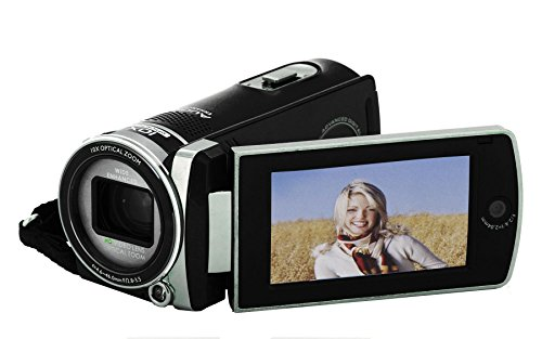 Polaroid ID975-BLK16MP Camcorder Video Camera with 3-Inch LC