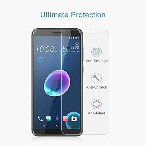 GUOSHU Premium Tempered Glass Screen Film 100 PCS 0.26mm 9H 2.5D Tempered Glass Film for HTC Desire 12 Anti-Scratch Screen Protector