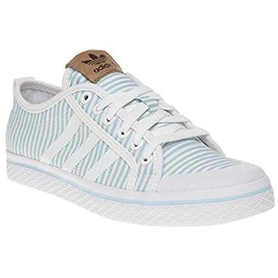 adidas Honey Low Femme Baskets Mode Blanc: