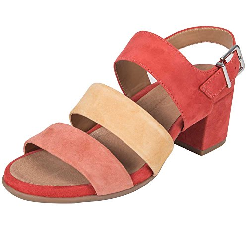 Earth Womens Tierra Sandalo Bright Coral Multi