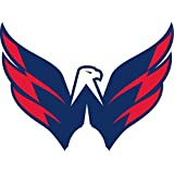 "Washington Capitals NHL Hockey Car Bumper Sticker Decal 5"" x 4"""