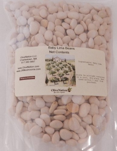 Baby Butter Lima Beans 1 lb by OliveNation