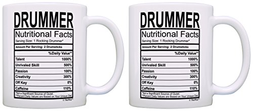 Marching Gifts Drummer Nutritional Coffee