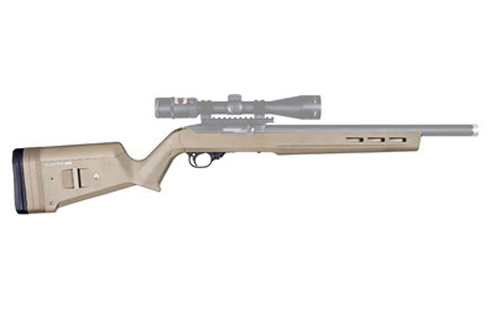 MagpulHunter X-22 Stock Fits Ruger 10/22 Drop-In Design Flat Dark Earth Finish by HTR