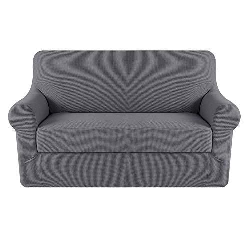 jacquard stretch solid checked sofa