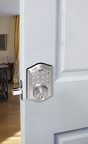 honeywell digital deadbolt instructions