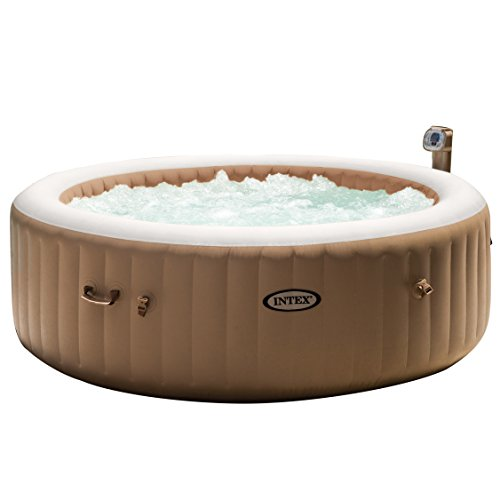 Intex 85in PureSpa Portable Bubble Massage Spa Set Hot Tub Spa Blower