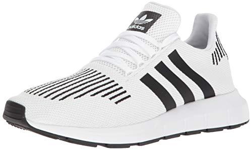 adidas Originals Men's SWIFT RUN Shoes,white/core black/medium grey heather,11 Medium US