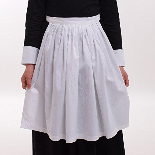 GRACEART Pilgrim Pioneer Colonial Girl Costume Accessories 100% Cotton Apron & Bonnet (US Size-06,Bonnet & Apron) by GRACEART (Image #6)