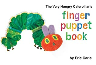 book cover of The Very Hungry Caterpillar\'s Finger Puppet Book