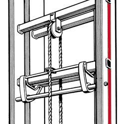 Hymer Fallhaken für Seilzugleitern UT für 916291