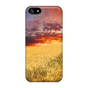 Abrahamcc Scratch-free Phone Case For iphone 6 4.7 Retail Packaging - Endless Wheat Field At Sunset
