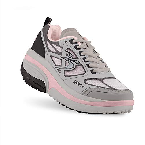 Gravity Defyer Proven Pain Relief Women's G-Defy Ion Athletic Shoes Great for Plantar Fasciitis, Heel Pain, Knee Pain