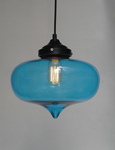 (Ling@ Bubble Design Pendant, 1 Light with Transparent Shade , 110-120v-transparence)