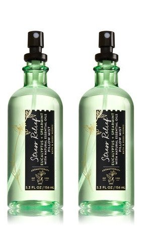 Bath & Body Works Aromatherapy Stress Relief Eucalyptus Spearmint Pillow Mist, 5.3 Fl Oz, 2-Pack (Packaging May Vary) by Bath & Body Works